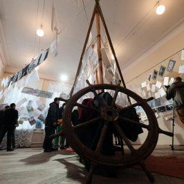 Творческая мастерская Атрибут  приняла участие на выставке «Днепровский паром»