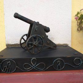 Чернігівська мініатюрна гармата, від проекту до побудови.